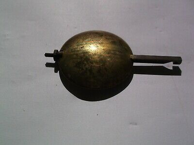 Pendulum From An Old English Mantel Clock  135G Ref Vtp 24