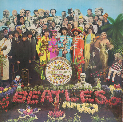 THE BEATLES ‎Sgt. Pepper's Lonely Hearts Club Band Gatefold Fifth pressing