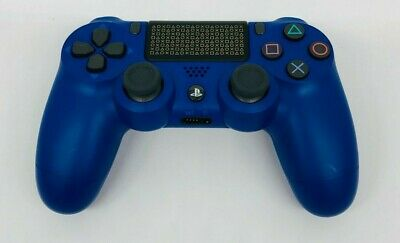 Genuine Sony PlayStation 4 DualShock Controller Days of Play Limited Edition VG