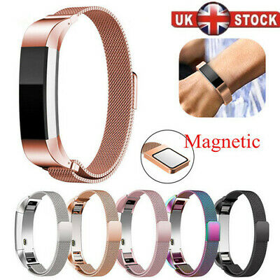 For Fitbit Alta / Alta HR Magnetic Milanese Stainless Steel Watch Band Strap UK