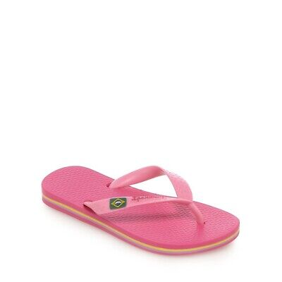 Ipanema Kids Childrens Girls Pink Flip Flops Brazil Rio