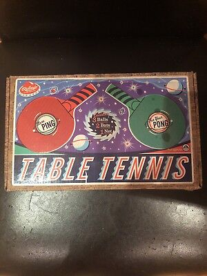 Ridleys House Of Novelties Table Tennis Set Ping Pong Game For 2