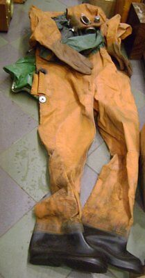 Russian Soviet diving suit, military model, for an emergency exit from submarine