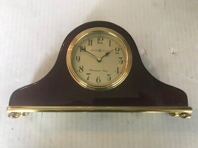Howard Miller Westminster Chimes Mantel Clock Mint!!