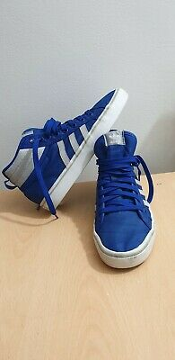 ADIDAS ORIGINALS NIZZA Hi Vintage Retro Sneakers Trainers