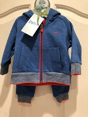 283db778b374 Ted Baker Baby Boy 0-3 Months Trouser Jacket Tracksuit Set Brand New Current