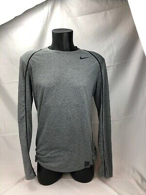 b7be9d86 MENS NIKE PRO COOL DRI FIT TRAINING LONG SLEEVE SHIRT SIZE Med EUC 703100  091