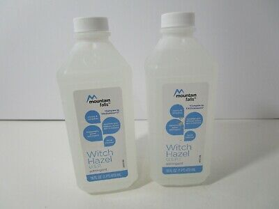 Mountain Falls Witch Hazel Astringent, 16 fl oz. (2 Pack) New, FREE SHIPPING!