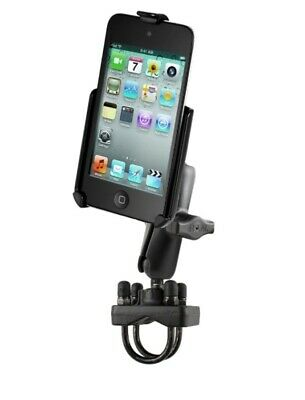 Handlebar Bike Motorcycle Rail Pipe Mount Fits Apple iPod touch 4th Generation