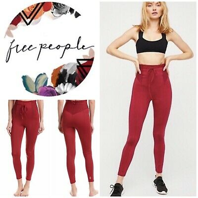 83147af6fb24e FREE PEOPLE MOVEMENT Ryanne Leggings Size Extra Small/Small NWT ...