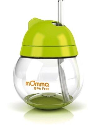 Lansinoh mOmma Straw Cup - Green