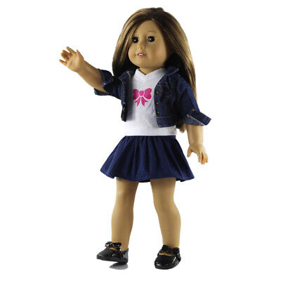 Dolls Pleated Skirt Clothes for 18'' AG American Doll Doll Dress Up Accs