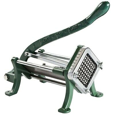 "3/8"" Green French Fry Potato Chopper Cutter Commercial Slicer Dicer"