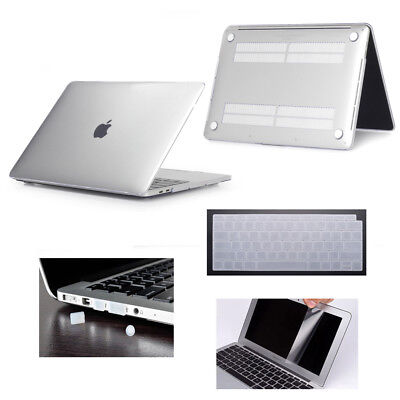 "Crystal Clear Hardshell Hard Case Cover For Apple Macbook Air 11.6""/13.3"" 12Inch"