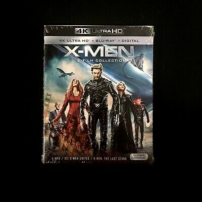 X-Men Trilogy Collection (4K Ultra HD + Blu-ray + Digital) Slipcover