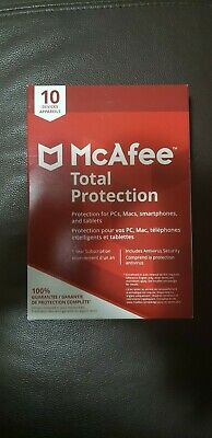 MCAFEE TOTAL PROTECTION 2019 3 PC 12 Months License