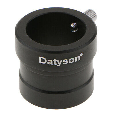 """Metal 1.25"""" to 0.965"""" Telescope Eyepiece Mount Adapter (31.7mm to 24.5mm)"""