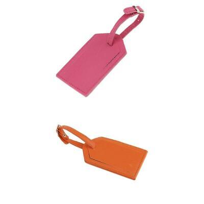 Luggage Tag Suitcase Bag ID Tags Address Label Baggage Card Holders-2 Pieces