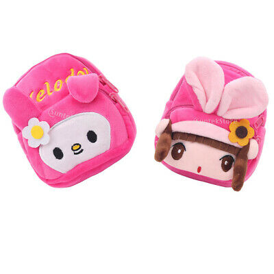 2PCS Dolls Schoolbag Backpack Accessories for 18 inch American Doll Girl