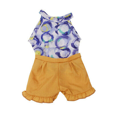 Fashion Doll Clothes Two-pieces Outfits For 18inch  Girl Doll