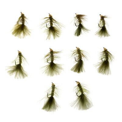144  Preselected Montana Trout Fly Assortment /& Fly Box U Pick Flies
