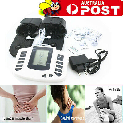 1xFull Body Electric Pulse Muscle Relax Stimulator Massager Acupuncture Therapy