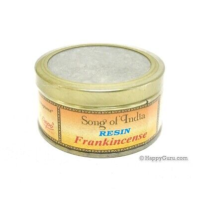"""""""Frankincense"""" Natural Incense Resin 60grams in Tin (Song Of India Brand)"""