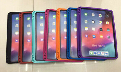 New For iPad Mini 1 2 3 4 Air 2 9.7 2018 Pro Kids Shockproof Silicone Case Cover