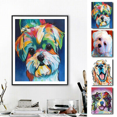 Stylish Animal Figure Abstract Wall Art Oil Painting Canvas Painted Post OWW