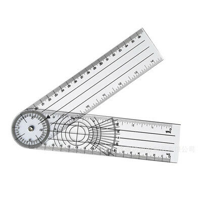 Userful Multi-Ruler Goniometer Angle Medical Spinal Ruler Professio fn