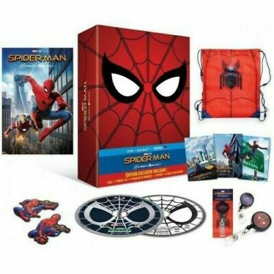 Spider-Man Homecoming  Blu-ray +DVD+copy Digital - Édition Exclusive collector