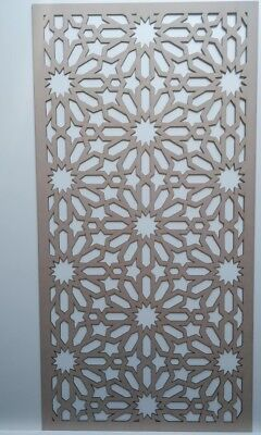 Radiator wall Cabinet Decorative Screening Perforated 3mm & 6mm thick MDFlaserM5