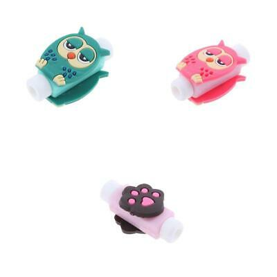 3x USB Cable Earphones Protector Charger Saver Sleeve Protective Cover Case
