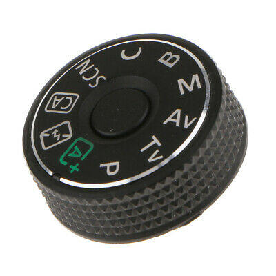Function Dial Mode Plate Top Interface Button Replacement Part for Canon 70D