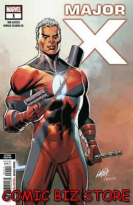 Major X #1 (Of 6) (2019) 2Nd Printing Rob Liefeld Variant Cover Marvel ($4.99)