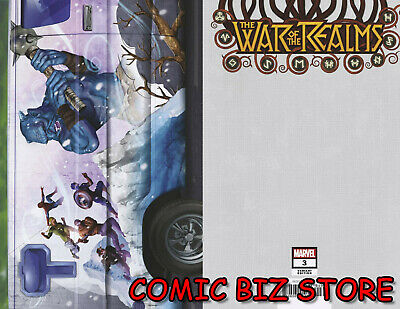 War Of The Realms #3 (Of 6) (2019) 1St Print Scarce 1:10 Horn Van Variant Cover