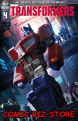 Transformers #4 (2019) 1St Printing Pitre-Durocher Main Cover A Idw Comics