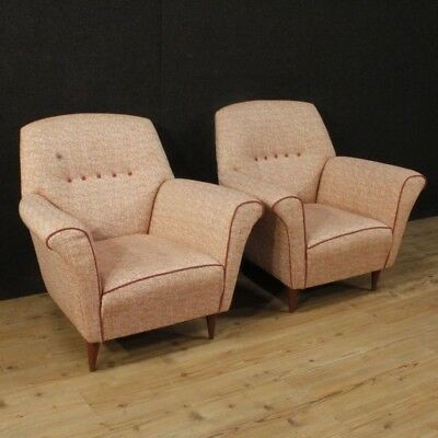 Armchairs Design Italian Couple Chairs Living Room Furniture Style Gio Ponti Ico