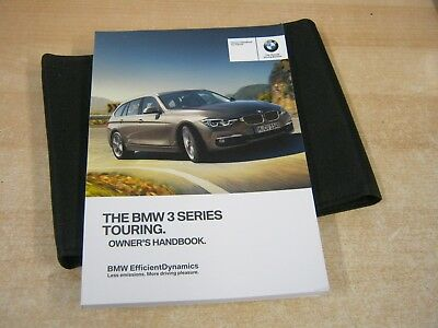 BMW 3 Series Touring//Estate Owners Handbook//Manual and Wallet 15-17