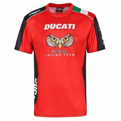 2019 Official PBM Be Wiser Ducati Team All over Print T shirt . 19PBM-AOPT