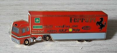 Pin Series Collection F1 Ferrari Camion