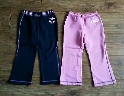 2 x Cherokee Trousers (Navy/Pink) - Child Aged 5 - 6 years)
