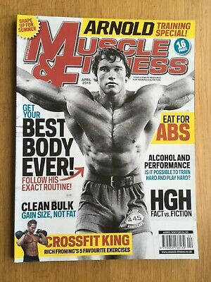 MUSCLE & FITNESS MAGAZINE Arnold April 2013