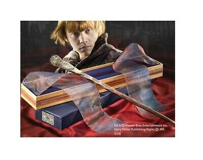 Baguette Harry Potter - Ron Weasley - modèle Ollivander - Noble Collection