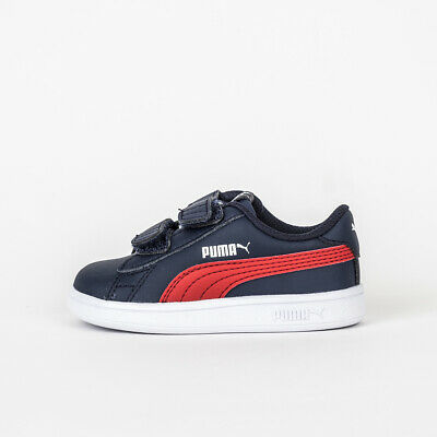 6044e9b19 Zapatillas Niño Puma Smash V2 L V Ps 365173 Sneakers Kids Tribes Azul
