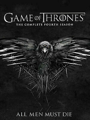 Game of Thrones: The Complete Fourth 4 4th Season (DVD, 2015, 5-Disc Set)
