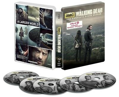 The Walking Dead The Complete Sixth 6th Season Steelbook Blu-ray Target