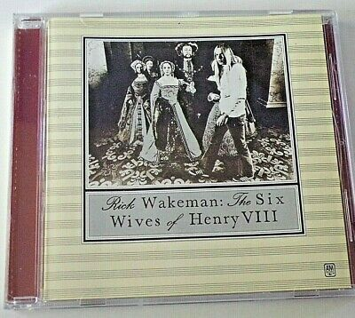 Rick Wakeman ‎– The Six Wives Of Henry VIII [Japanese CD] 2003 UICY-9261
