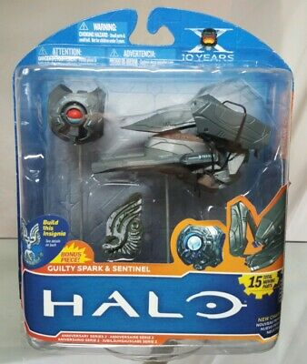 Halo McFarlane 10th Anniversary Series 2 Sentinel and Guilty Spark NIB SEALED