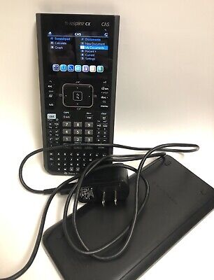 TEXAS INSTRUMENTS TI-NSPIRE CX CAS Calculator - $83 00